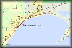 Map of Tawas Bay Area