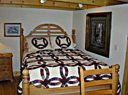 Bedroom Furniture and Handcrafted Quilts